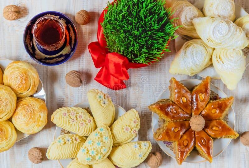 Novruz. Azerbaijani traditions. New Year. Selective focus royalty free stock photo
