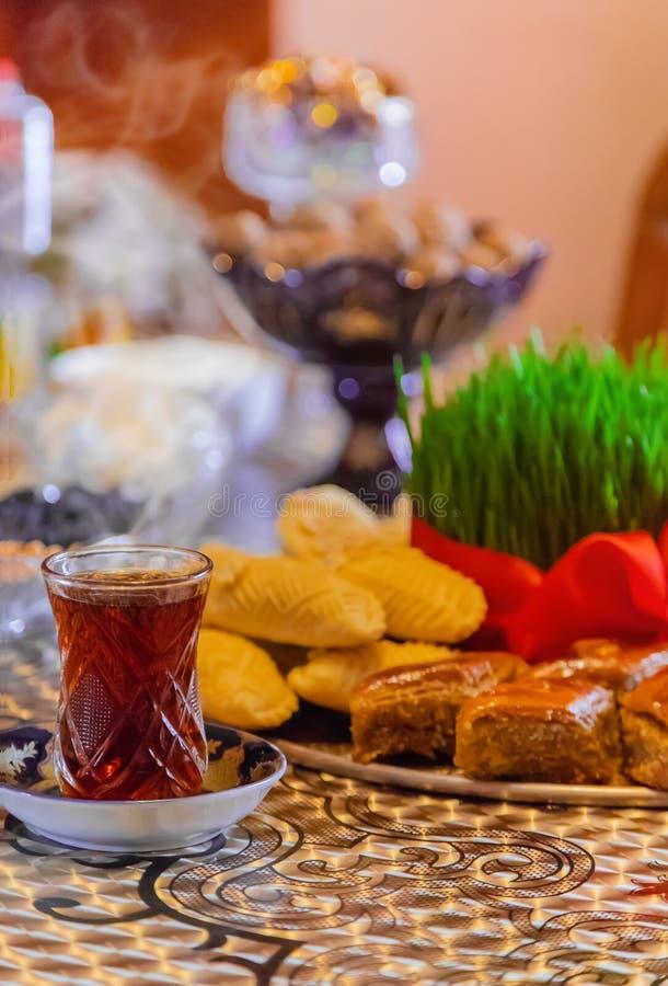 Novruz. Azerbaijani traditions. New Year. Selective focus stock photography