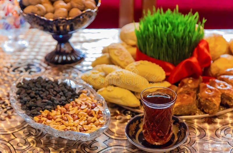 Novruz. Azerbaijani traditions. New Year. Selective focus stock photos