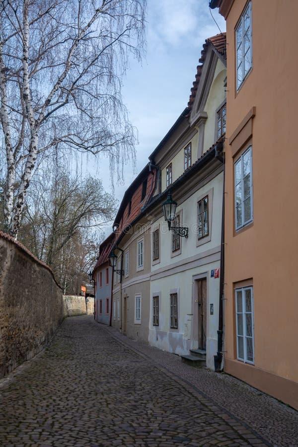 Novy Svet w Praga zdjęcie royalty free