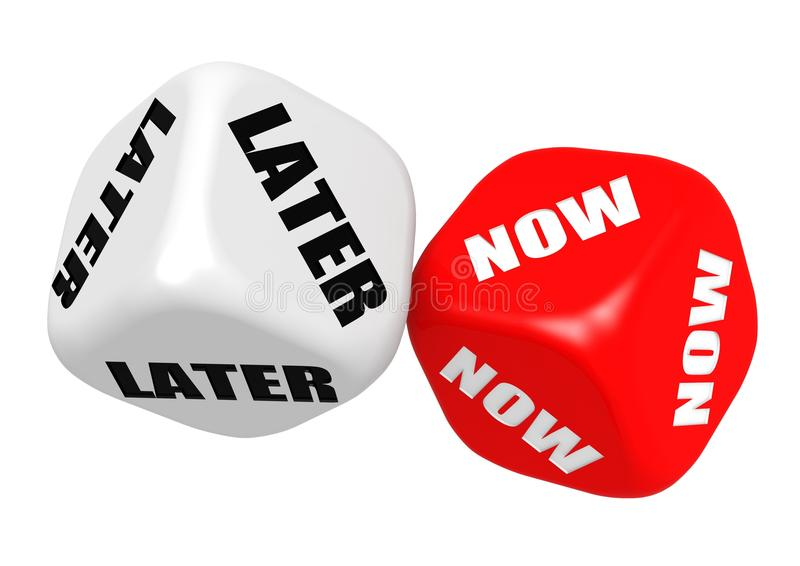 Download Now later dices stock illustration. Illustration of choice - 28785585