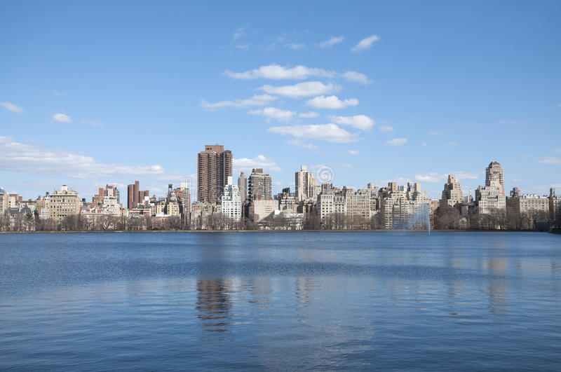 Now York City, Central Park royalty free stock photo