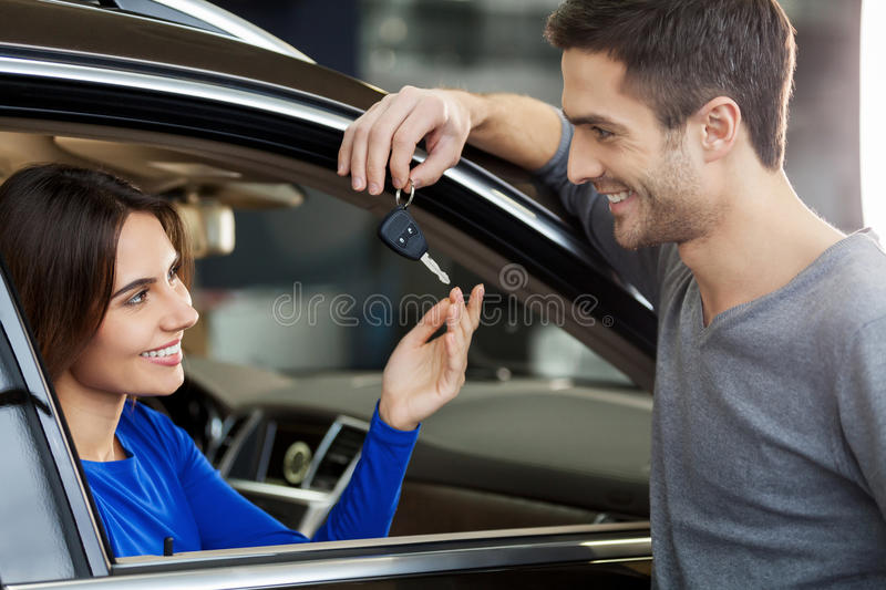 Now it is yours! stock image