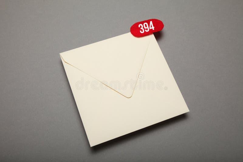 Nowa adres korespondencja, komunikacja biznesowa list obraz royalty free