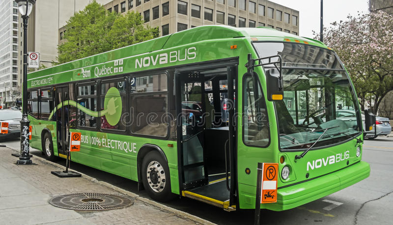 Nowa autobus obraz stock