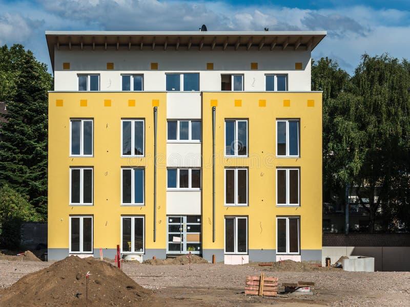 Nowa budynek budowa zdjęcia royalty free