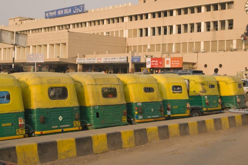 nowa Delhi stacja fotografia stock