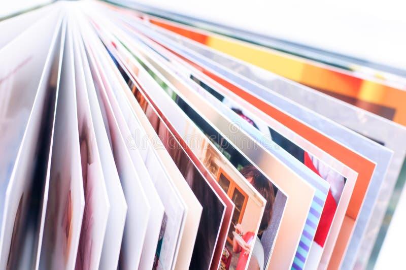 Nowa fotografii książka zdjęcia stock