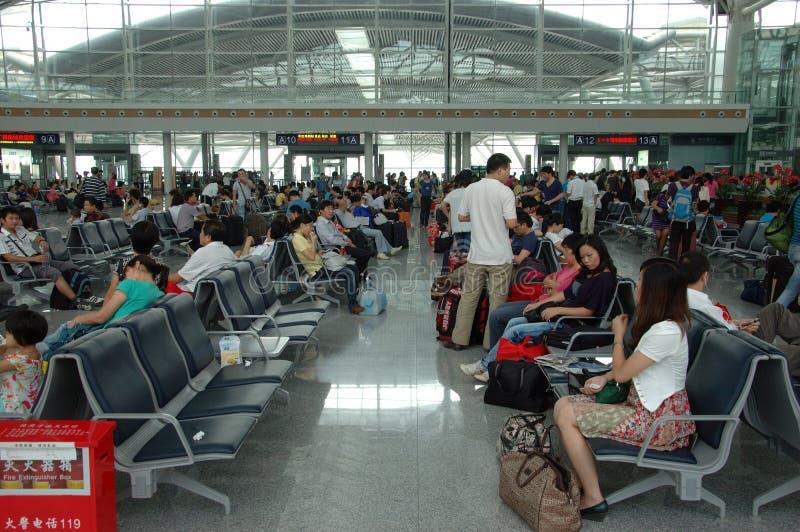 nowa Guangzhou stacja kolejowa zdjęcia royalty free