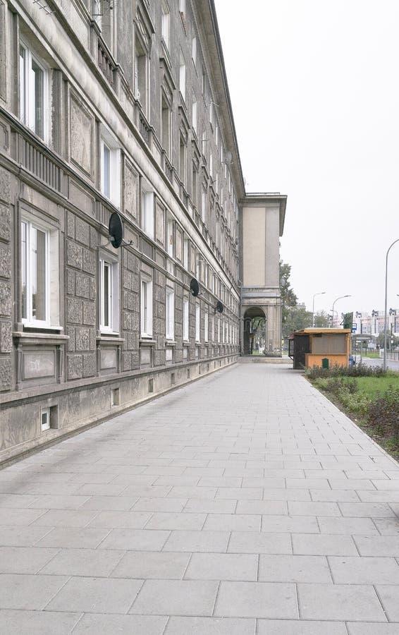 Nowa Huta в Кракове стоковое изображение