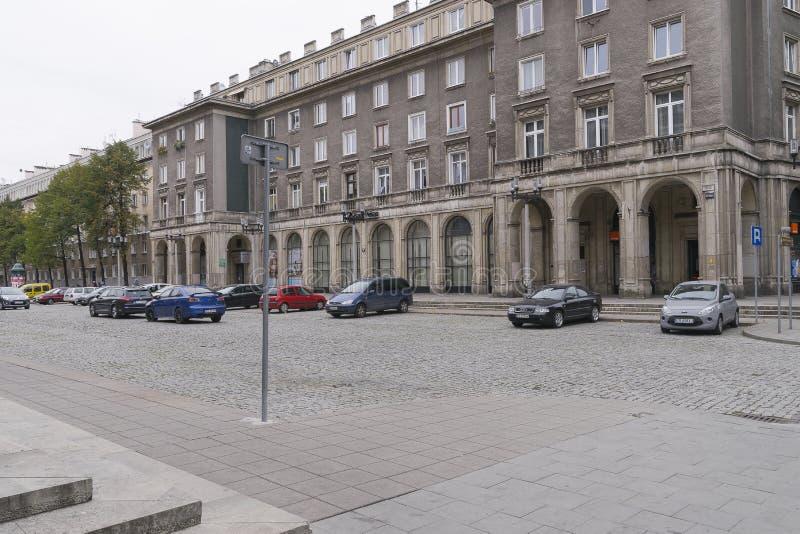 Nowa Huta en Kraków fotografía de archivo libre de regalías