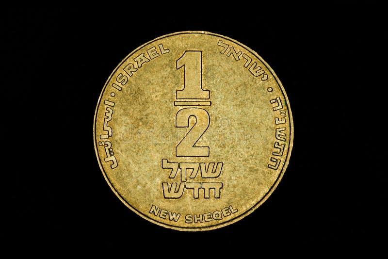 Nowa Izraelicka sykl moneta fotografia stock