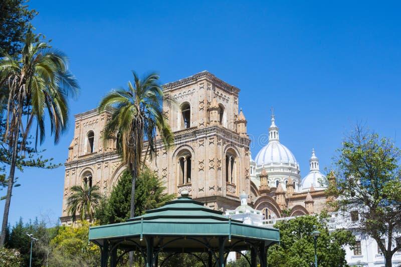 Nowa katedra Cuenca, Ekwador fotografia royalty free