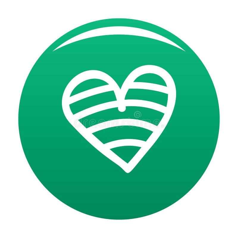 Nowa kierowa ikona wektoru zieleń ilustracji