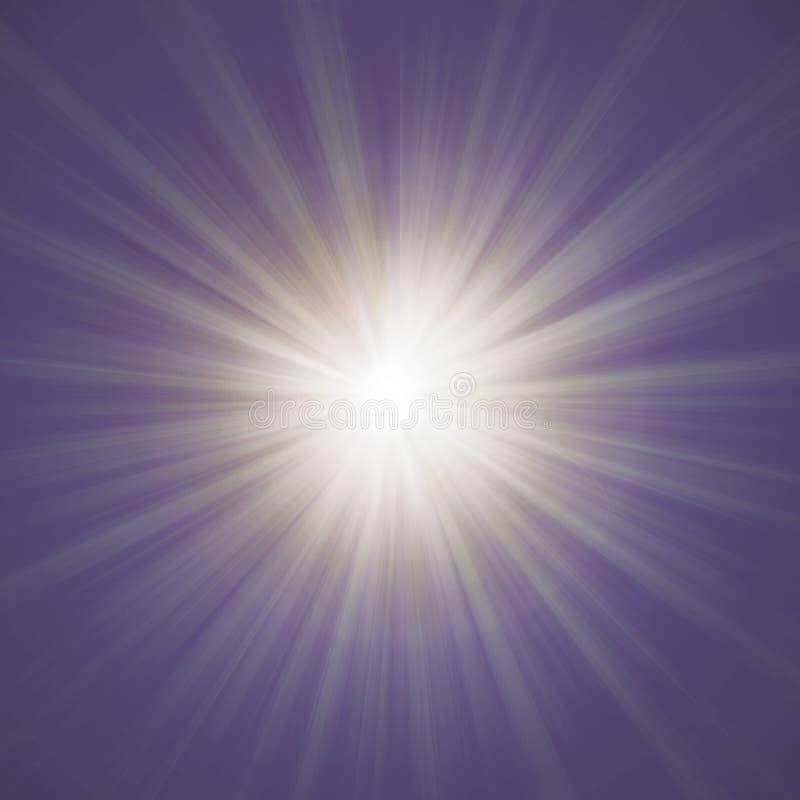 Nowa linia sunburst ilustracji