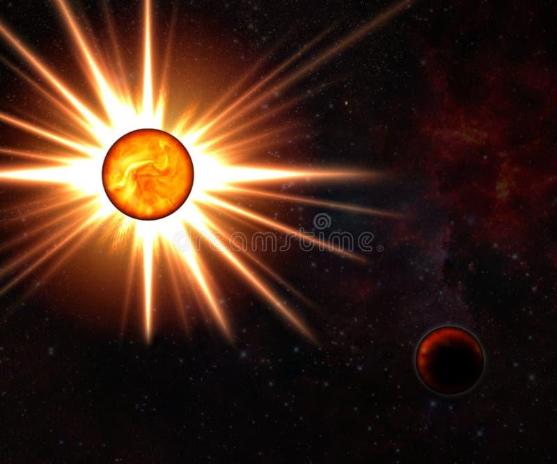 nowa nieżywa gwiazda ilustracji