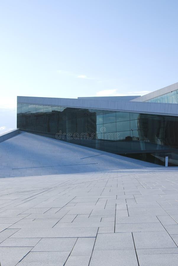 nowa opera Oslo domowa obraz royalty free