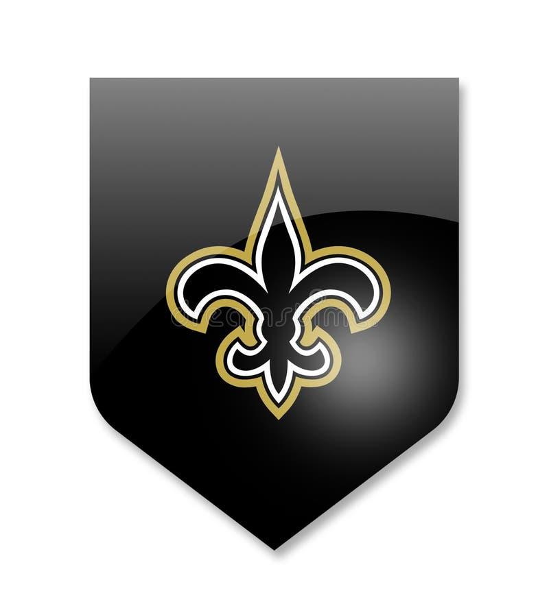 Nowa Orleans świętych drużyna ilustracji