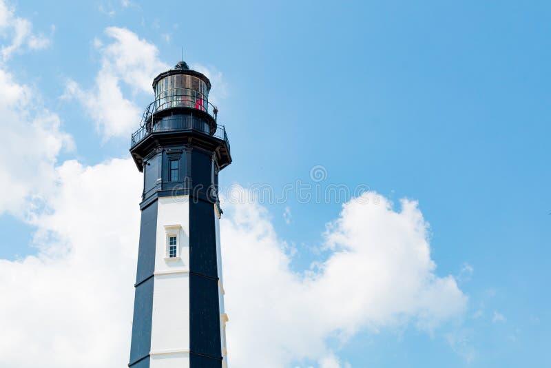 Nowa przylądka Henry latarnia morska, Robić Od żeliwnych talerzy zdjęcie stock