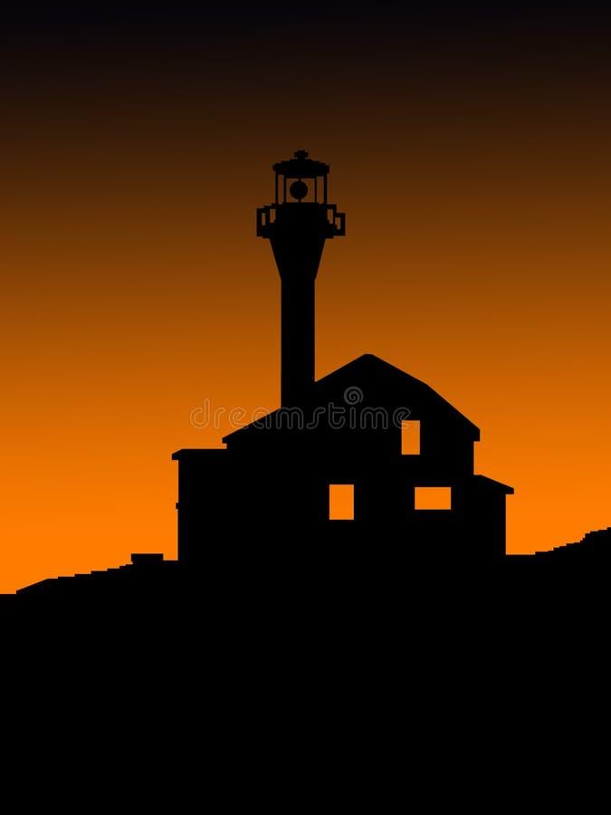Nowa Scotia latarnia morska w Yarmouth zdjęcia royalty free