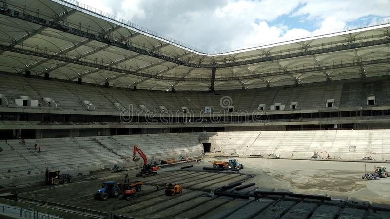 Nowa stadium arena obrazy royalty free