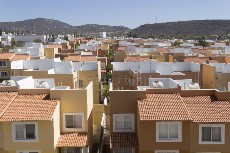 Nowa urbanizacja w narastającym mieście fotografia royalty free