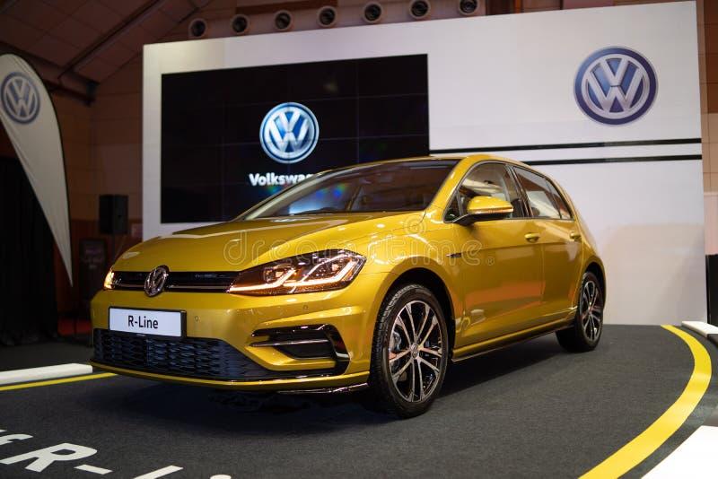 Nowa Volkswagen r linia 2018 obraz royalty free