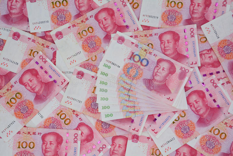 Nowa wersja RMB i stara wersja fotografia royalty free