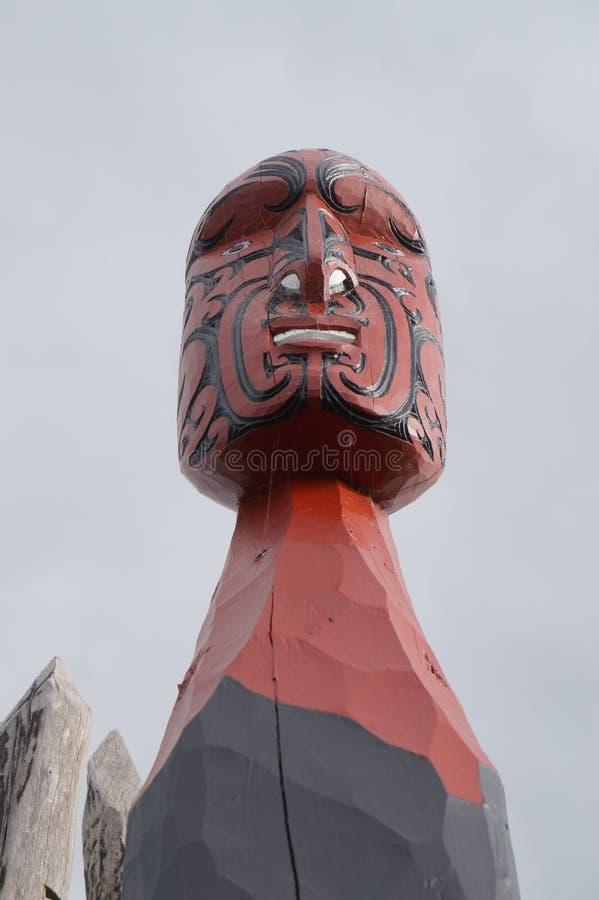 Nowa Zelandia Maoryjscy cyzelowania 2 obraz stock