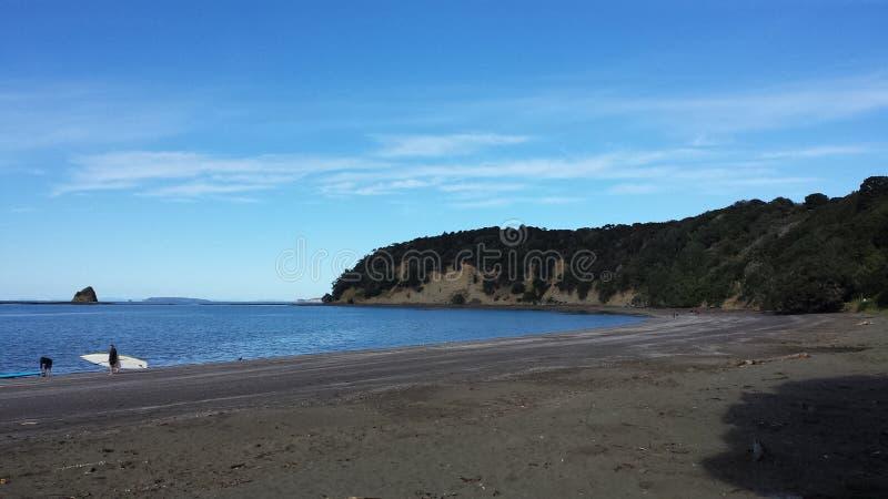 Nowa Zelandia plaża zdjęcia royalty free