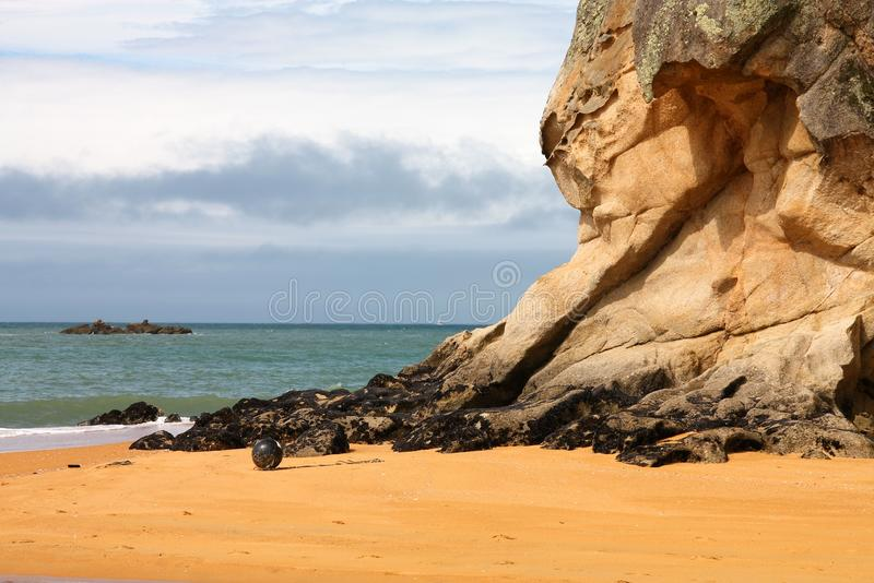 Nowa Zelandia plaża fotografia royalty free