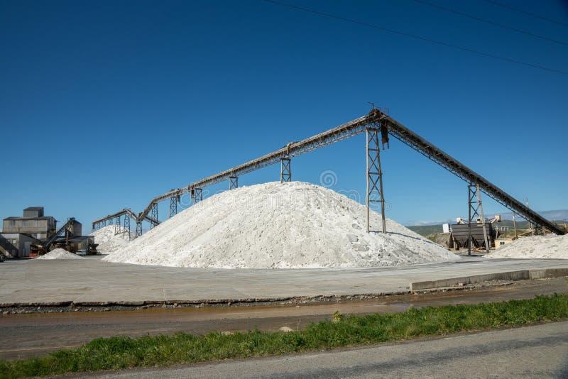 Nowa Zelandia Saltworks zdjęcie royalty free