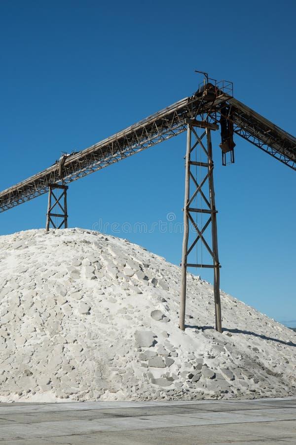 Nowa Zelandia Saltworks zdjęcia royalty free