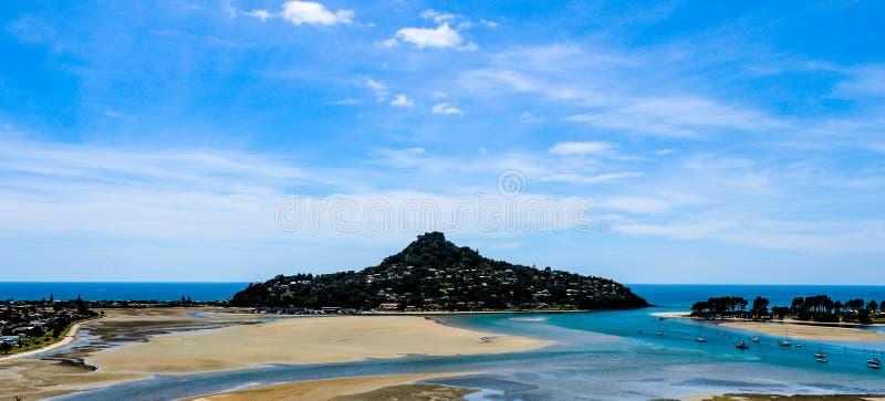 Nowa Zelandia w lecie obrazy royalty free