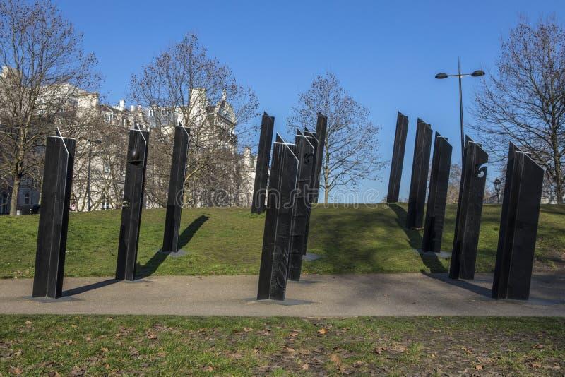 Nowa Zelandia Wojenny pomnik w Londyn zdjęcia stock