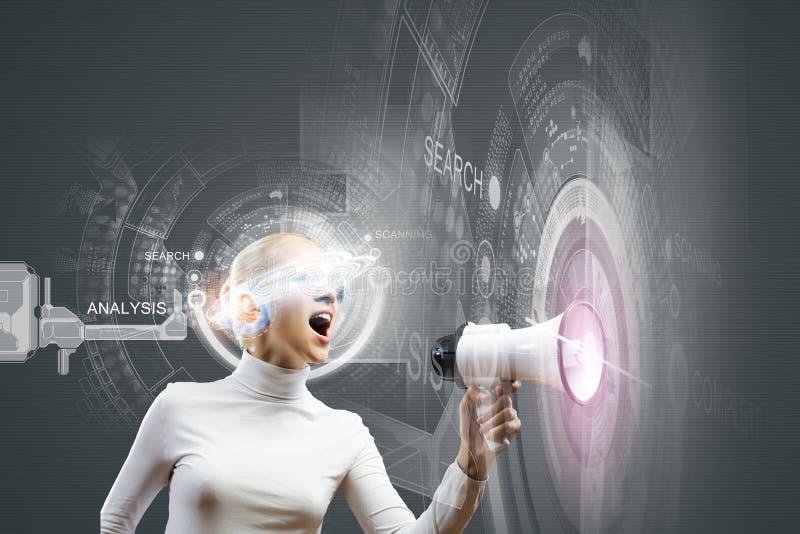 nowatorskie technologie obrazy stock
