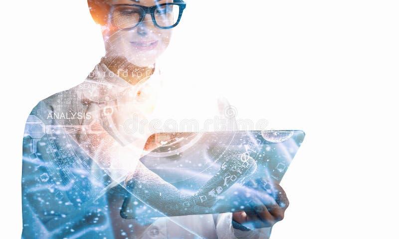 Nowatorskie technologie dla nauki i medycyny obrazy royalty free