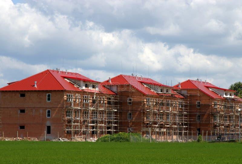 nowe budynki mieszkalne fotografia royalty free