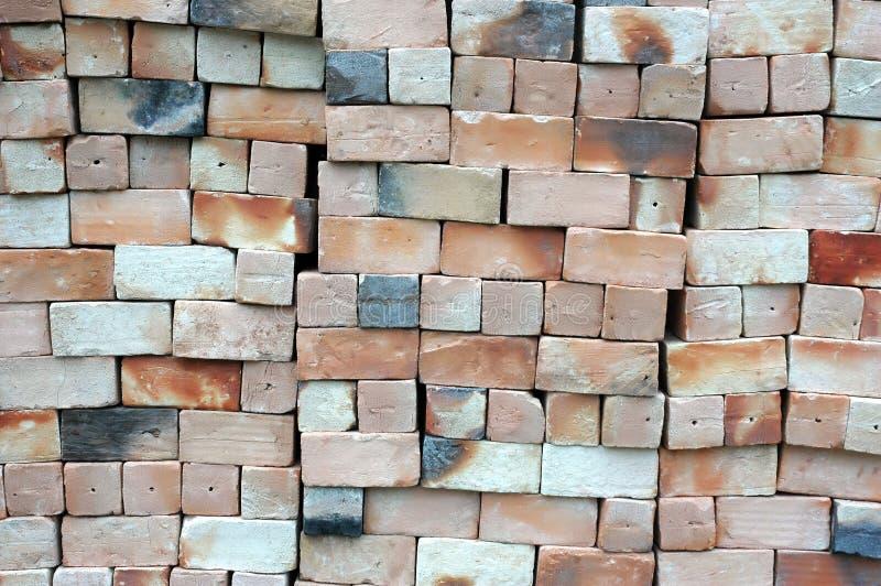 Nowe cegły zdjęcie stock