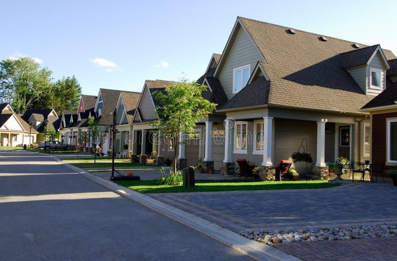 nowe domy zdjęcie royalty free