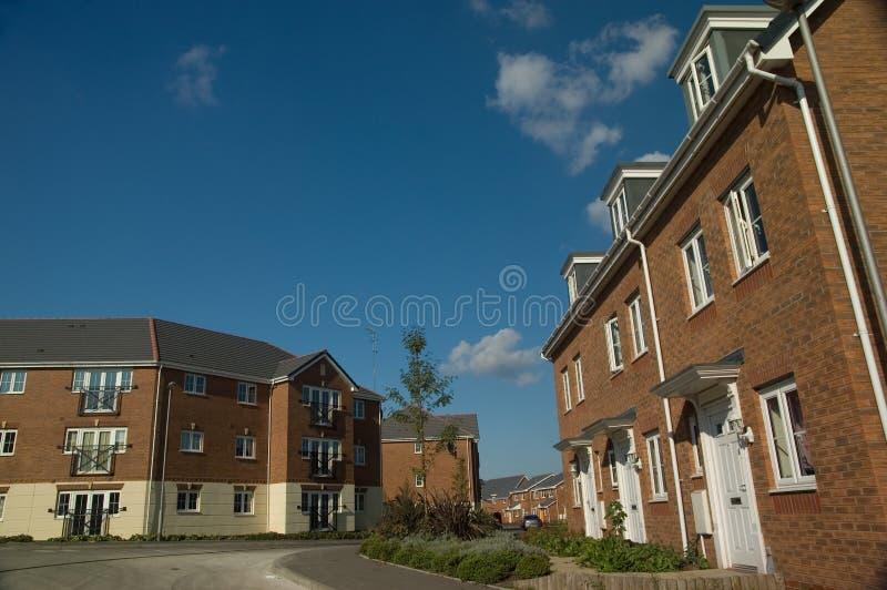nowe domy obraz stock