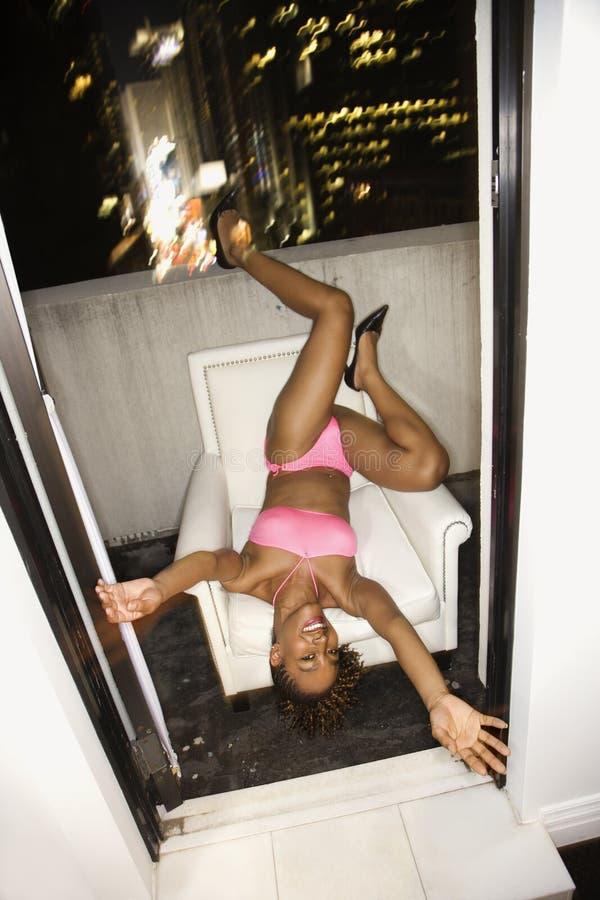 nowe miasto nocy York seksowni młode kobiety zdjęcia royalty free