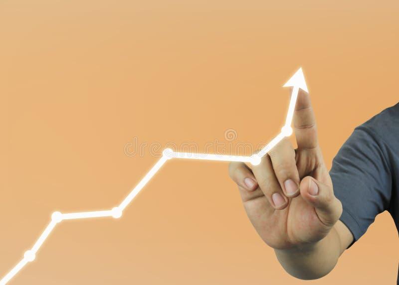 nowe pokolenie biznesmenów punkty pojęcie profitabi obraz stock
