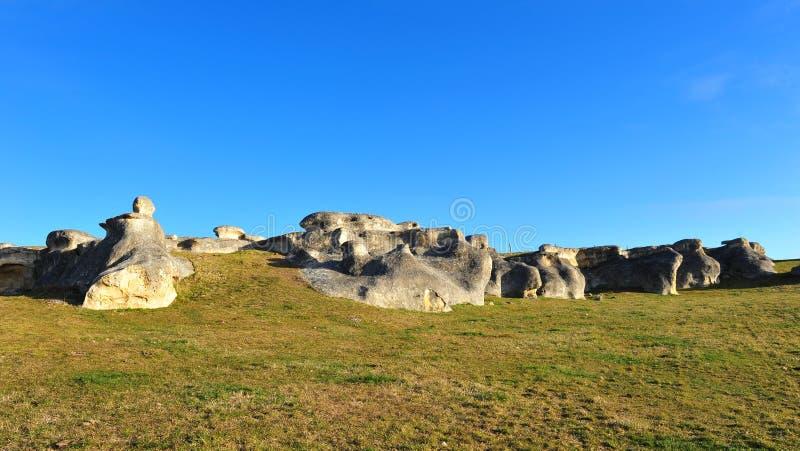 nowe słoń skały Zealand zdjęcia stock