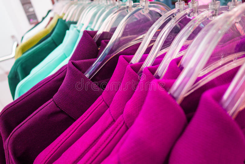 nowe ubrania fotografia stock