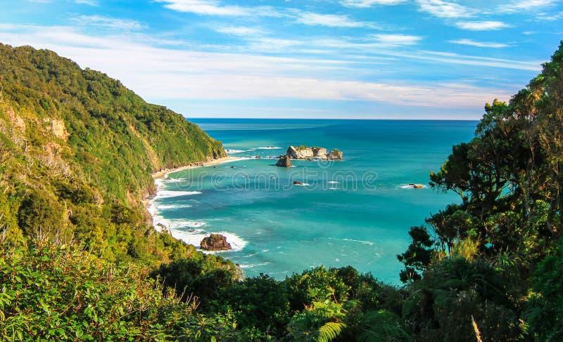 Nowe Zealand Tropikalne plaże zdjęcia royalty free