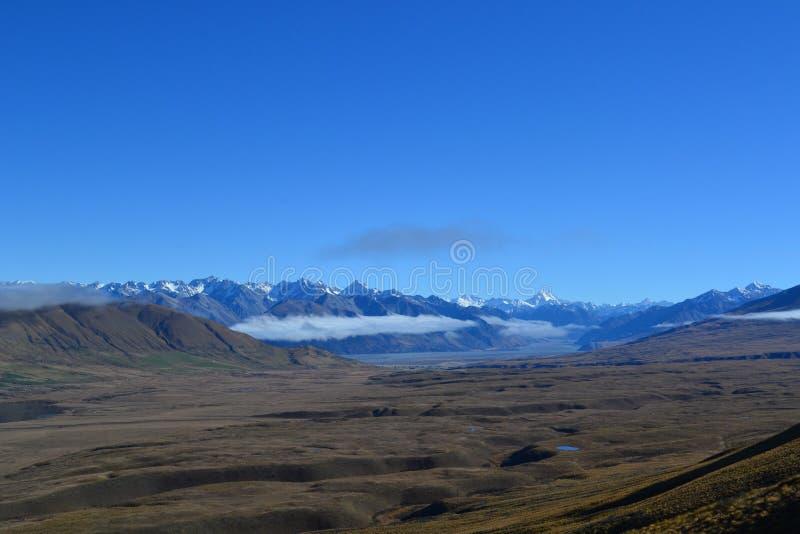 Nowe Zealandian góry obrazy royalty free