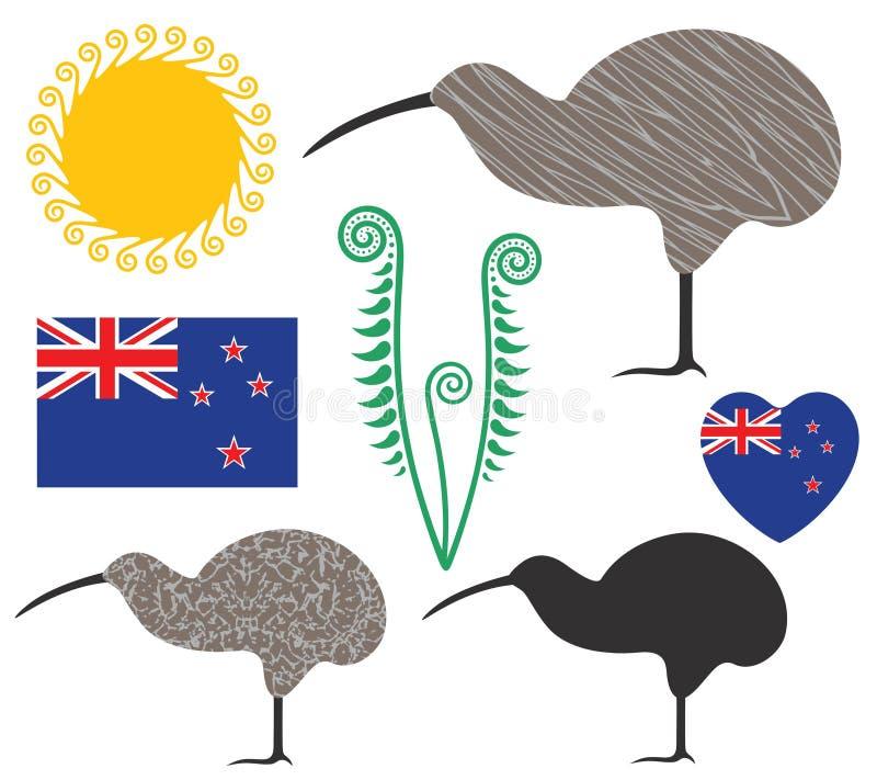 nowe Zelandii ilustracji