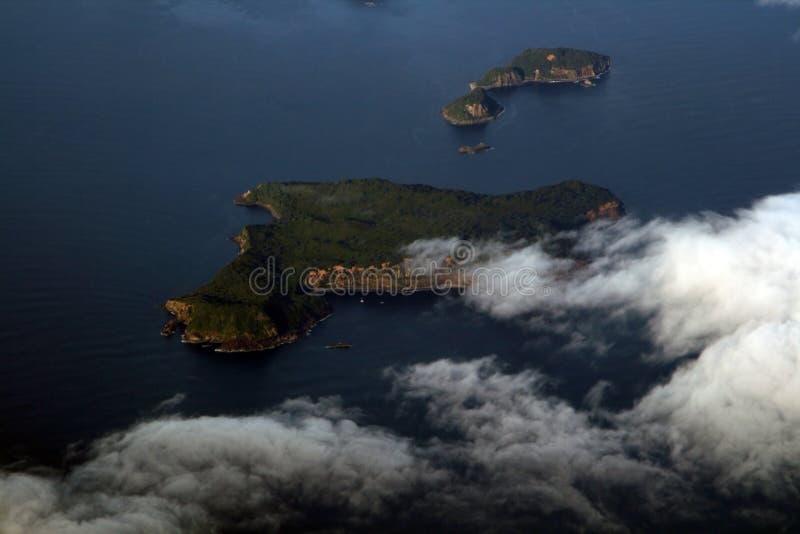 nowe Zelandii wyspę. obraz royalty free