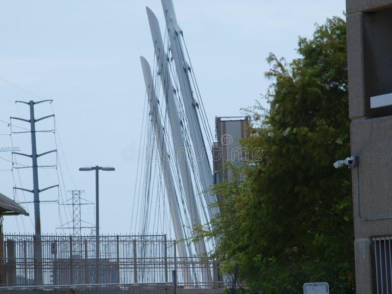 Nowego Katy śladu Zwyczajny most zdjęcia royalty free